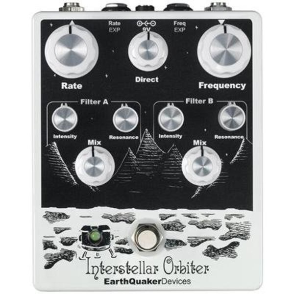 EarthQuaker Devices Earthquaker Devices Interstellar Orbiter Dual Resonant Filter