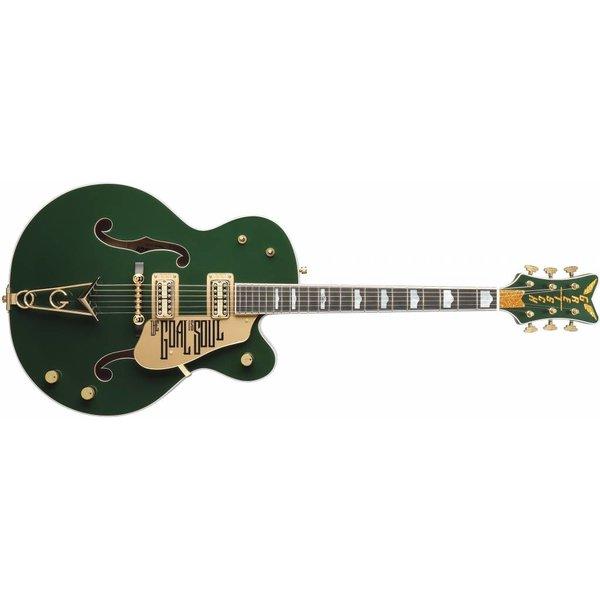 Gretsch Guitars Gretsch G6136I Bono Irish Falcon, Ebony Fingerboard, Soul Green