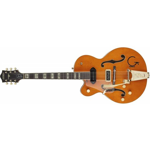 Gretsch G6120LH Eddie Cochran Signature Hollow Body with Bigsby, Left-Handed, Rosewood Fingerboard, Western Maple Stain