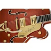 Gretsch G6120TFM Players Edition Nashville with String-Thru Bigsby, Filter'Tron Pickups, Flame Maple, Orange Stain