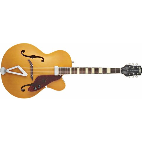 Gretsch G100CE Synchromatic Archtop Cutaway Elec, Rosewood FB, Natural