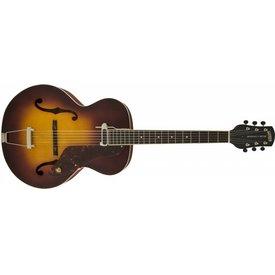 Gretsch Guitars Gretsch G9555 New Yorker Archtop Guitar w Pickup, Semi-gloss, Vintage Sunburst