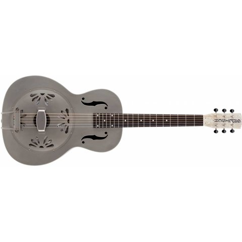 Gretsch G9201 Honey Dipper Round-Neck, Brass Body Resonator, Shed Roof Finish