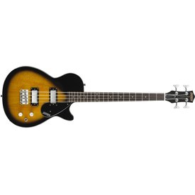 "Gretsch Guitars Gretsch G2224 Junior Jet Bass II Rosewood Fngrbrd 30.3"" Scale, Tobacco Sunburst"