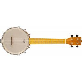 "Gretsch Guitars Gretsch G9470 ""Clarophone"" Banjo-Ukulele, Maple Fingerboard, Round-Rod Brass Tone-Ring"