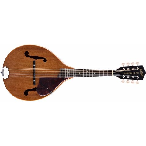 "Gretsch G9310 New Yorker ""Supreme"", A-Style Mandolin, Solid Mahogany Top/Back/Sides, Vintage Mahogany Stain"