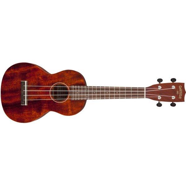 Gretsch Guitars Gretsch G9110 Concert Standard Ukulele with Gig Bag, Vintage Mahogany Stain