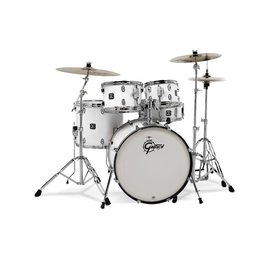 Gretsch Drums Gretsch Energy 5Pc Kit W/ Z Cymbal White