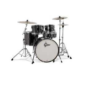 Gretsch Drums Gretsch Energy 5Pc Kit W/ Z Cymbals Grey