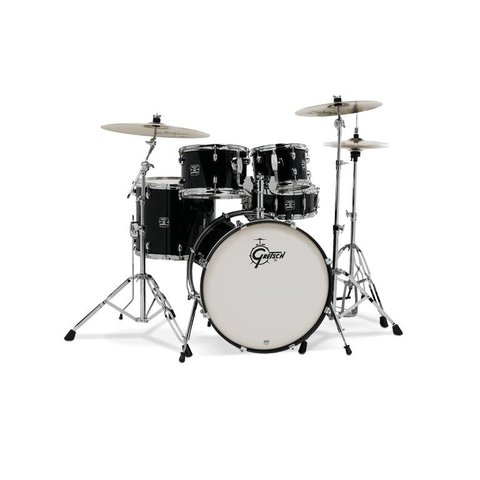 Gretsch Energy 5Pc Kit W/ Z Cymbal Black