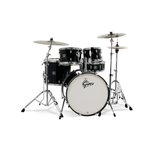 Gretsch Drums Gretsch Energy 5Pc Kit W/ Z Cymbal Black
