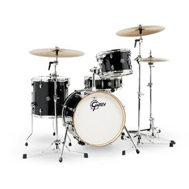 Gretsch Drums Gretsch CT1-J484-PB Catalina Club 4-Pc Shell Pack Piano Black