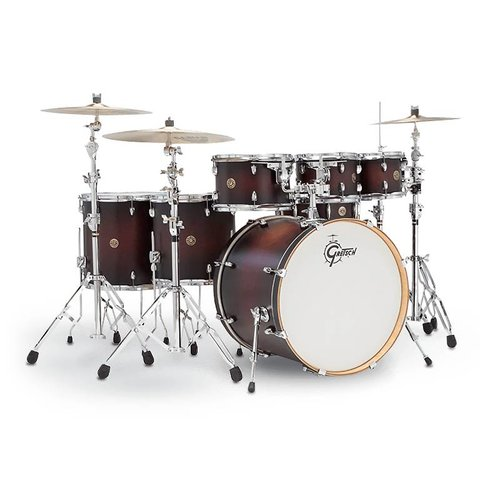 Gretsch Drums Catalina Maple 6-Pc Shell Pack Satin Deep Cherry Burst