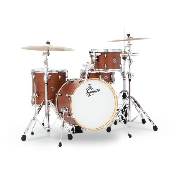 Gretsch Drums Gretsch CT1-J484-SWG Catalina Club 4-Pc Shell Pack Satin Walnut Glaze