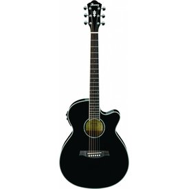 Ibanez Ibanez AEG10IIBK AE Acoustic Electric Guitar Black