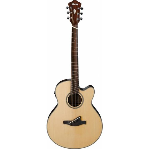 Ibanez AELFF10NT AE Acoustic Electric Fanned Fret Guitar Natural