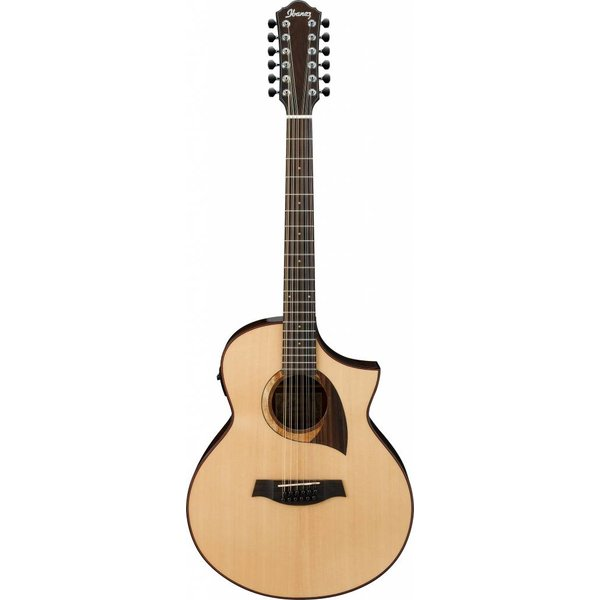 Ibanez Ibanez AEW2212CDNT AEW Acoustic Electric Guitar High Gloss Natural