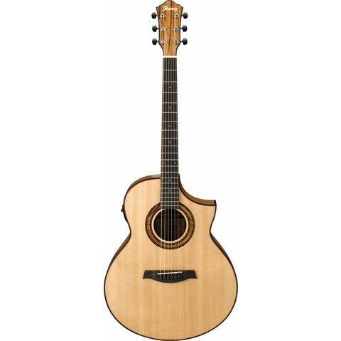 Ibanez AEW23ZWNT AEW Zebrawood Back & Sides Acoustic Electric Guitar