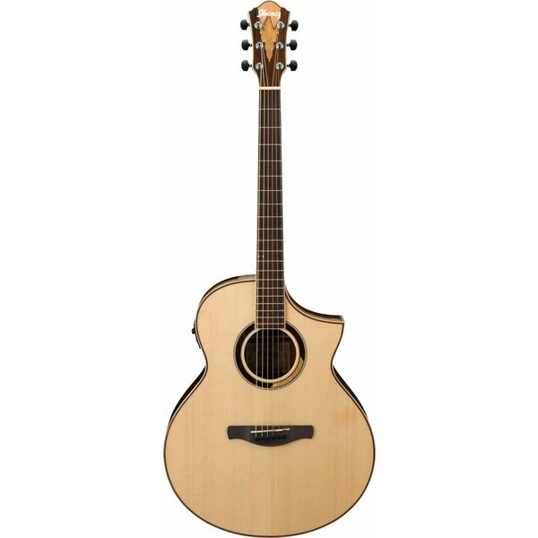 Ibanez Ibanez AEW51NT AEW Tonewood Acoustic Electric Guitar High Gloss Natural
