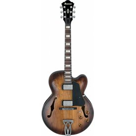 Ibanez Ibanez AFV10ATCL Artcore Vintage Hollowbody Electric Low Gloss Tobacco Burst