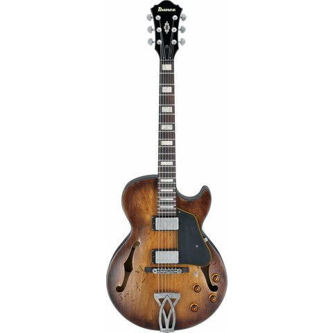 Ibanez AGV10ATCL Artcore Vintage Hollowbody Elec Low Gloss Tobacco Bust w/ Case