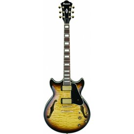 Ibanez Ibanez AM93AYS Artcore Semi-Hollowbody Electric Antique Yellow Burst w/ Case