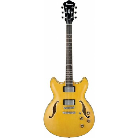 Ibanez AS73AA Artcore Semi-Hollowbody Electric Guitar Antique Amber w/ Case