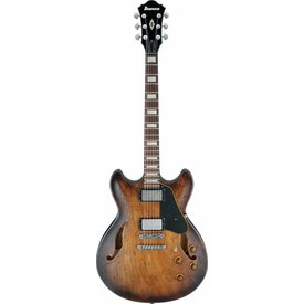 Ibanez Ibanez ASV10ATCL Artstar Semi-Hollowbody Electric Low Gloss Tobacco Sunburst