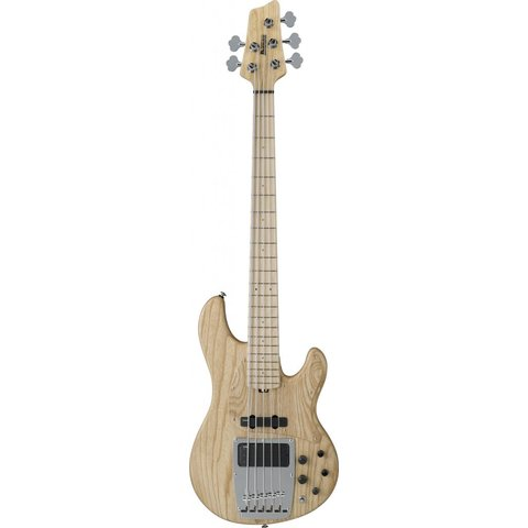 Ibanez ATK815ENTF ATK Premium 5-String Electric Bass Natural Ash w/Bag