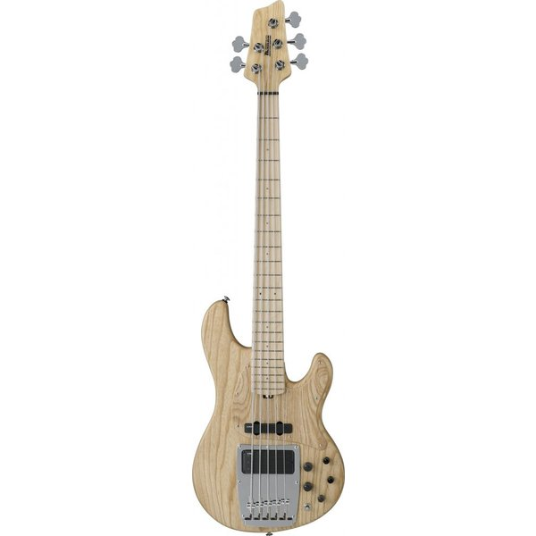 Ibanez Ibanez ATK815ENTF ATK Premium 5-String Electric Bass Natural Ash w/Bag