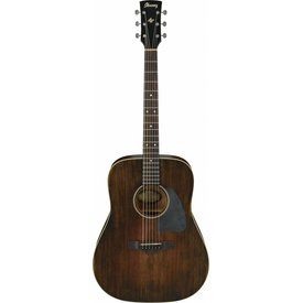 Ibanez Ibanez AVD6DTS Artwood Vintage Dreadnought Acoustic, Distressed Tobacco Sunburst