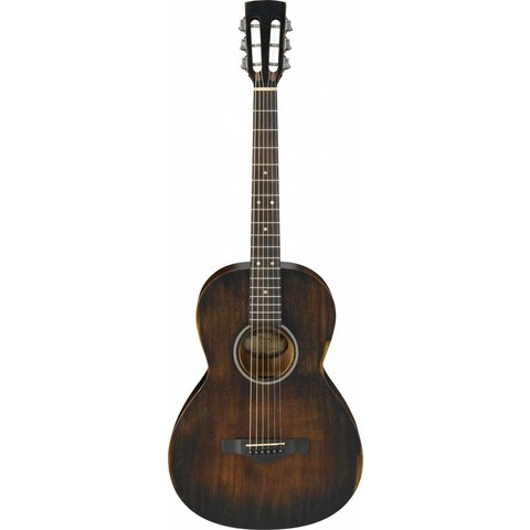 Ibanez AVN6DTS Artwood Vintage Parlor Acoustic Distressed Tobacco Sunburst