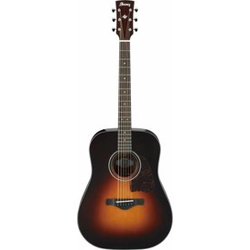Ibanez Ibanez AW4000BS Artwood Acoustic Guitar, High Gloss Sunburst