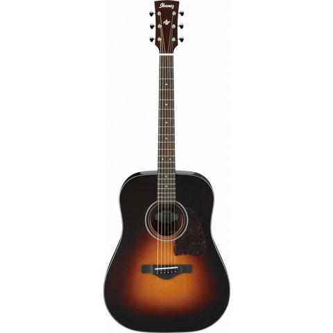 Ibanez AW4000BS Artwood Acoustic Guitar, High Gloss Sunburst