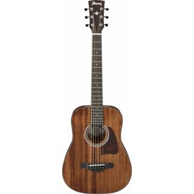 Ibanez Ibanez AW54MINIOPN Artwood 3/4 Size Acoustic Guitar Open Pore Mahogany