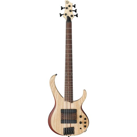 Ibanez BTB33NTF BTB 5-String Electric Bass Flat Natural