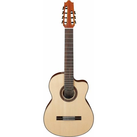 Ibanez G207CWCNT CL 7-String Classical Guitar High Gloss Natural