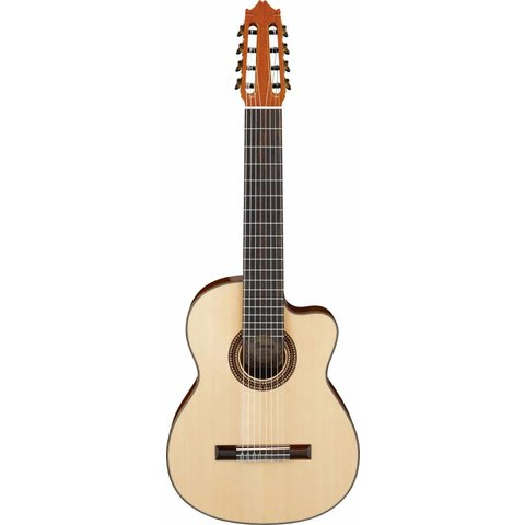 Ibanez G208CWCNT CL 8-String Classical Guitar High Gloss Natural