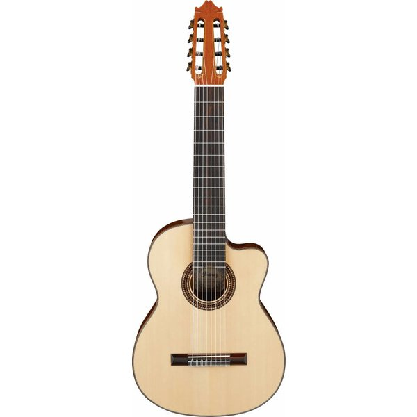 Ibanez Ibanez G208CWCNT CL 8-String Classical Guitar High Gloss Natural