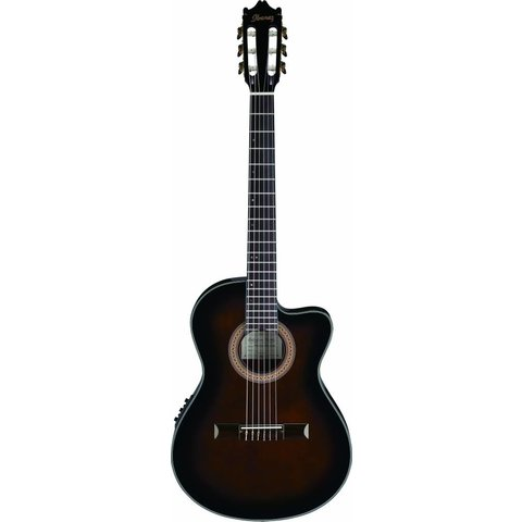 Ibanez GA35TCEDVS CL Classical Electric Acoustic Cutaway Dark Violin Sunburst
