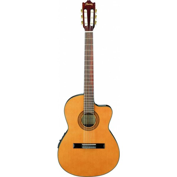 Ibanez Ibanez GA5TCE GA Thinline Classical Acoustic Electric Cutaway Natural Spruce