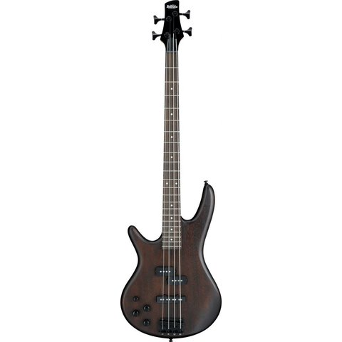 Ibanez GSR200BLWNF Gio Soundgear Left-Handed Electric Bass Guitar Walnut Flat