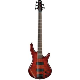 Ibanez Ibanez GSR205SMCNB Gio Soundgear 5-String Electric Bass Charcoal Brown Burst