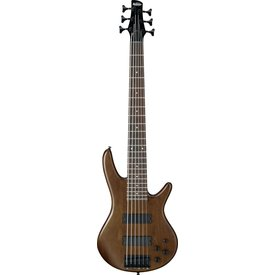Ibanez Ibanez GSR206BWNF Gio Soundgear 6-String Electric Bass Guitar Walnut Flat