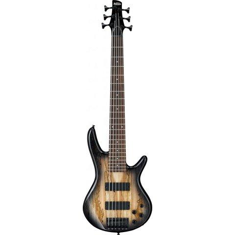 Ibanez GSR206SMNGT Gio Soundgear 6-String Electric Bass Guitar Natural Gray Burst