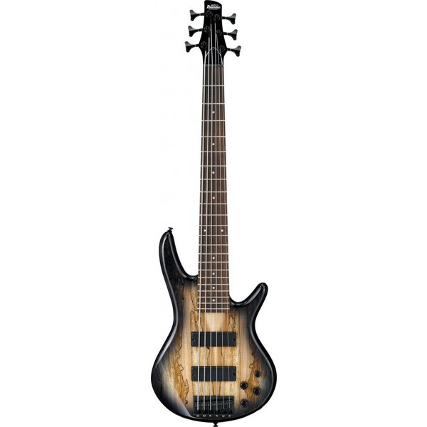 Ibanez Ibanez GSR206SMNGT Gio Soundgear 6-String Electric Bass Guitar Natural Gray Burst