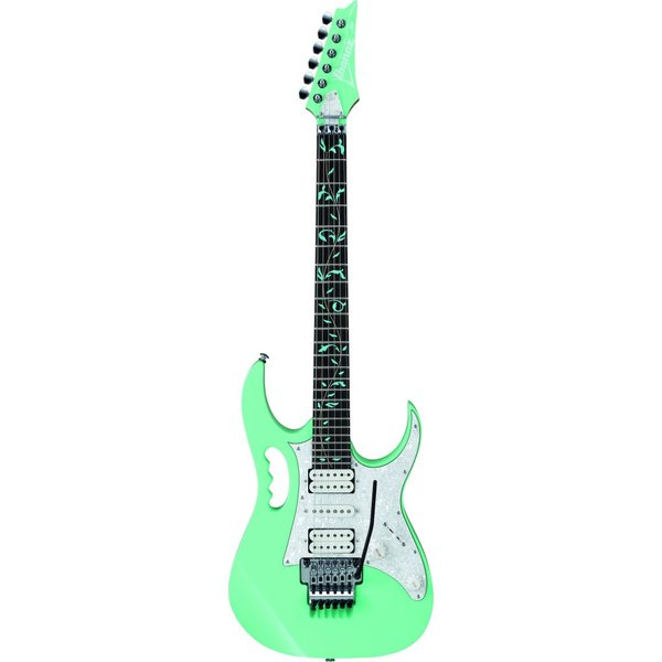Ibanez Ibanez JEM70VSFG Steve Vai Signature JEM Electric Guitar Seafoam Green w/Case