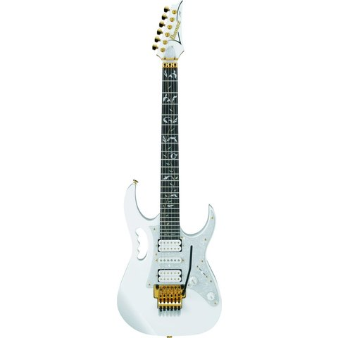 Ibanez JEM77VWHSteve Vai Signature JEM Electric Guitar White w/Case