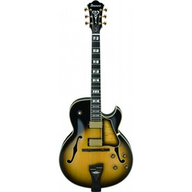 Ibanez Ibanez LGB300VYS George Benson Signature Model Hollowbody Electric Guitar Vintage Yellow Sunburst w/Case