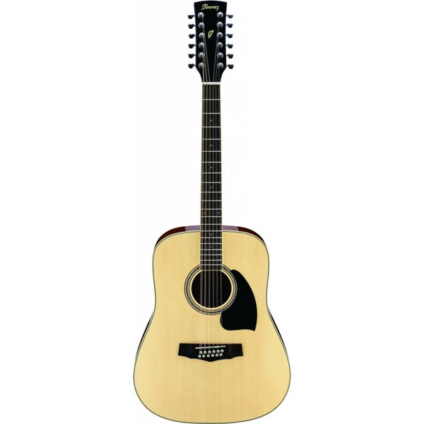 Ibanez Ibanez PF1512NT Performance 12-String Acoustic Guitar Natural